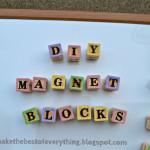 Magnet Block Letters