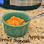 Butternut Squash Apple Sauce