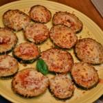 Eggplant Parmesan mini Pizzas!
