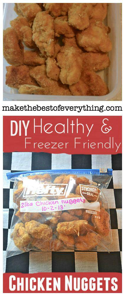 Homemade Freezer Nuggets