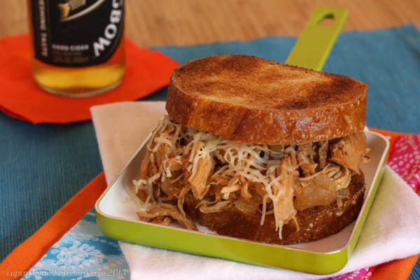 Slow-Cooker-Apple-Cider-Pulled-Chicken-Sandwiches-1