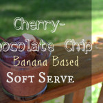 Cherry Chocolate-Chip Soft Serve