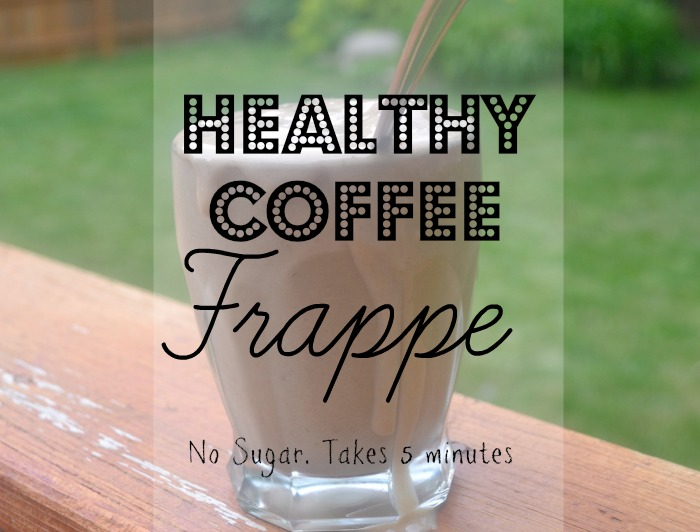 Healthy Coffee Frappe