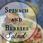 Spinach, Berries and Chicken Salad