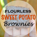Sweet Potato – Grain Free Brownies