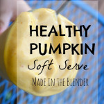 Healthy Pumpkin Soft Serve