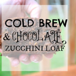Cold Brew & Chocolate Zucchini Loaf
