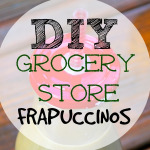 Healthy Grocery Store Frappuccino