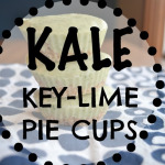 Kale & Key-Lime Pie Cups