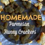 Parmesan Bunny Crackers