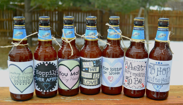 These Are The Wedding Beer Labels That I In My Etsy Wanted To Devote A Page Them On By Blog Addition Listing