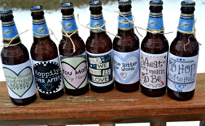 The Sayings On Beer Labels Are As Follows