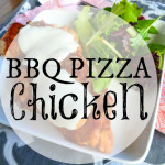 Barbecue Pizza Chicken