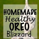 Healthy Oreo Blizzard