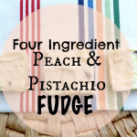 Healthy Peach and Pistachio Fudge