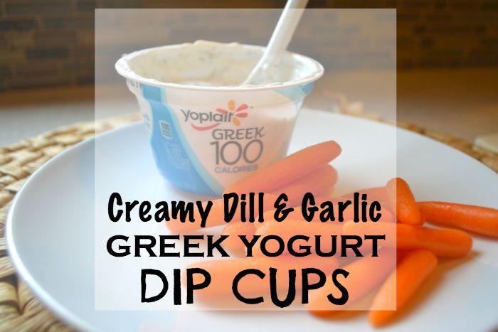 Greek Dill Garlic Dip 601