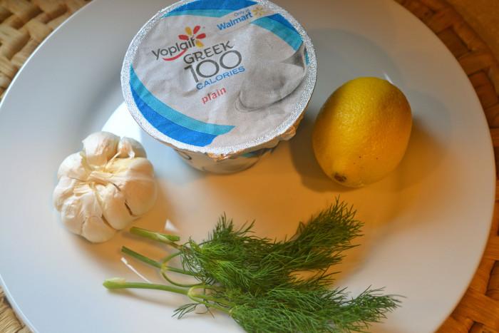 Greek Dill Garlic Dip