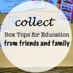 Box Top for Education- Collection Envelopes