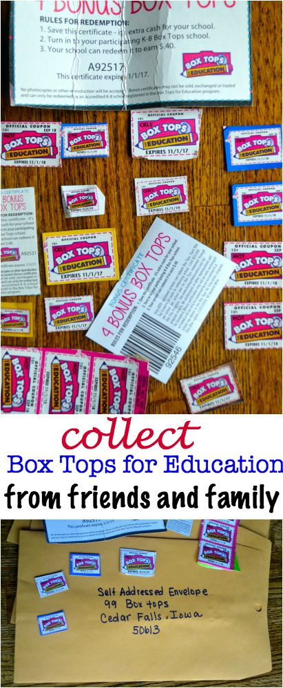 Box Tops for Education 1000