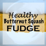 Healthy Butternut Squash Fudge