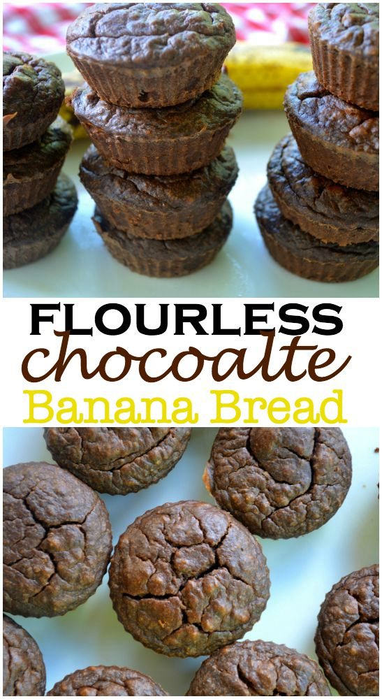 Flourless Chocolate Banana Bread 100