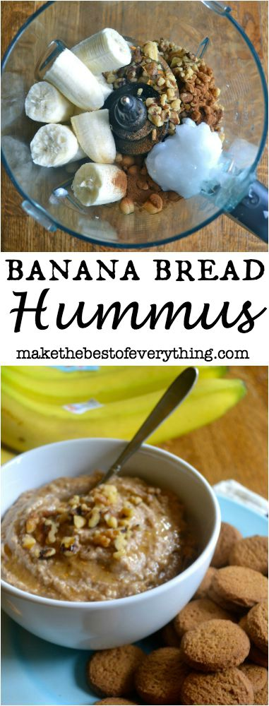 Banana Walnut Bread Hummus