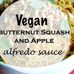 Vegan Butternut Squash and Apple Alfredo Sauce