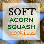 Soft Acorn Squash Molasses Cookies