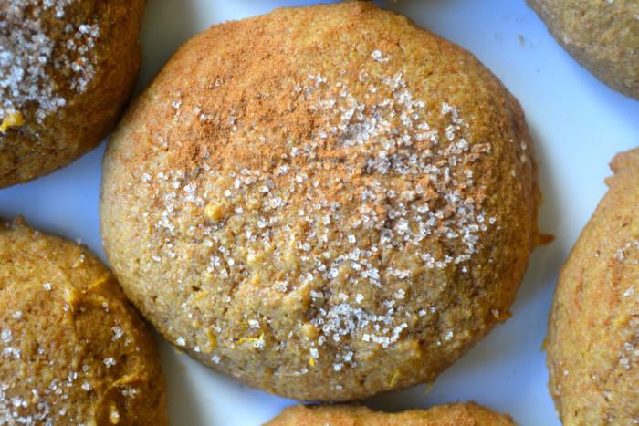Acorn Squash Molassas Cookies