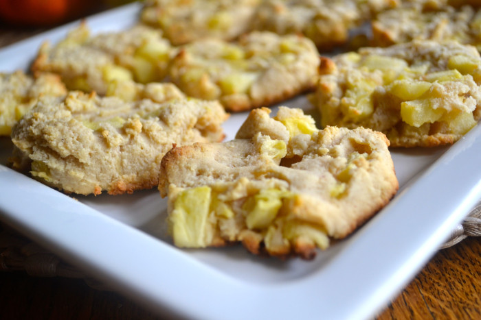 Apple Pie Almond Cookies