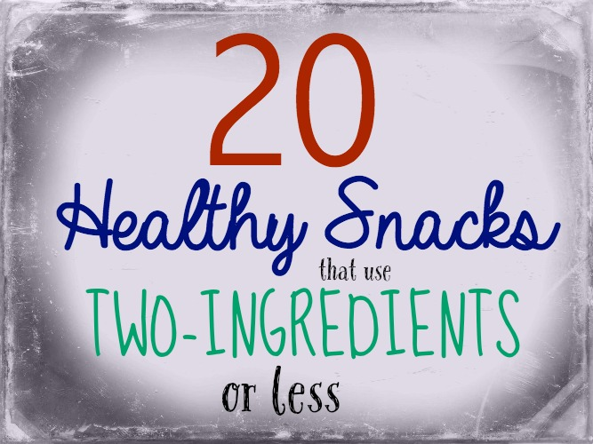 Healthy Snacks 2