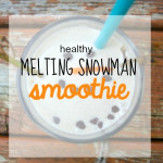 Melting Snowman Smoothie