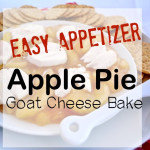 Apple Pie Goat Cheese Bake