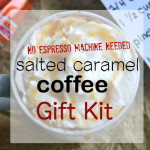 Salted Caramel Coffee- Recipe and Gift Kit