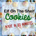 Elf on the Shelf -Mini Sugar Cookies