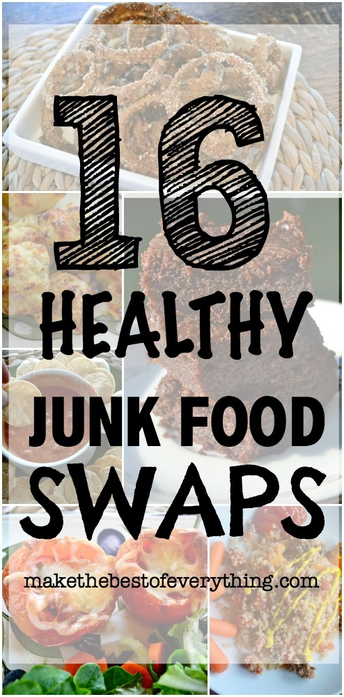 16 Healthy Junk Food Swaps
