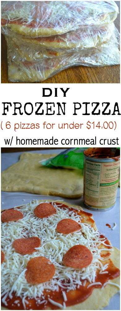 6 Frozen Pizzas for 14 dollars