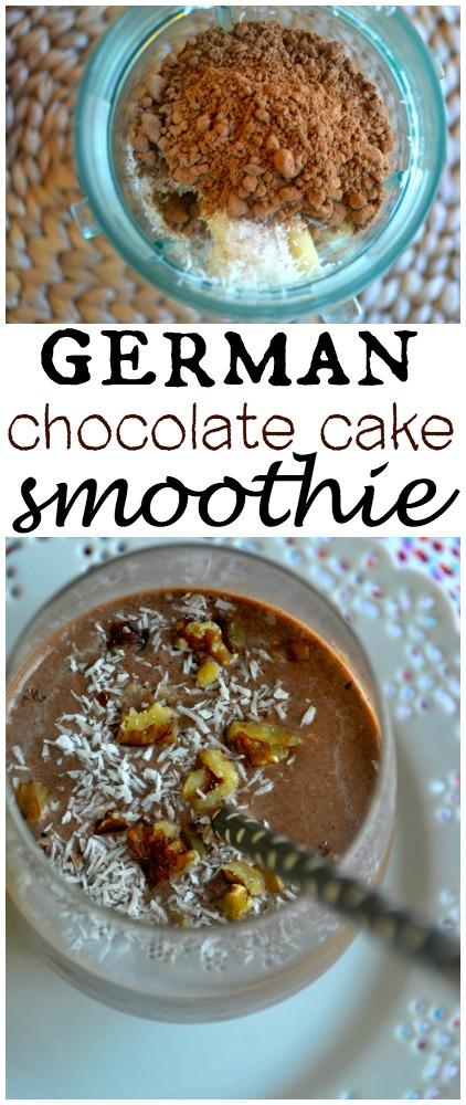 German Chocolate Cake Smoothie2