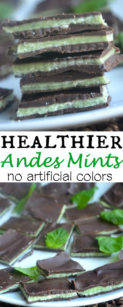 Homemade and Healthy Andes Mints