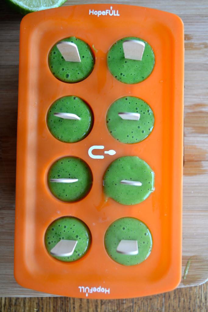 Key Lime Pie Smoothie freezer pops