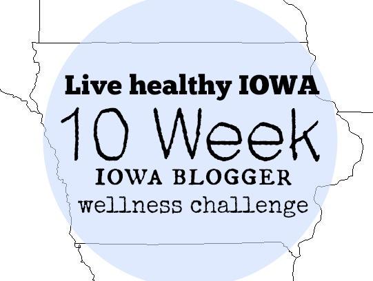 Iowa blogger wellness chllenge