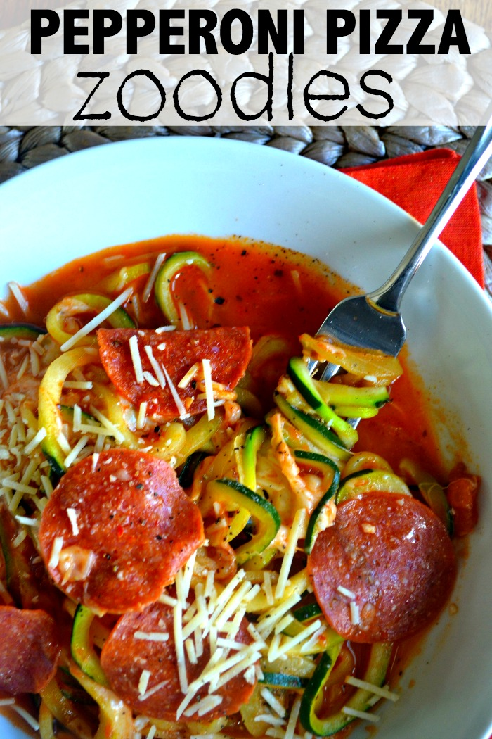 pepproni pizza zoodle bowl11