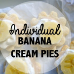 Individual Banana Pudding Pies