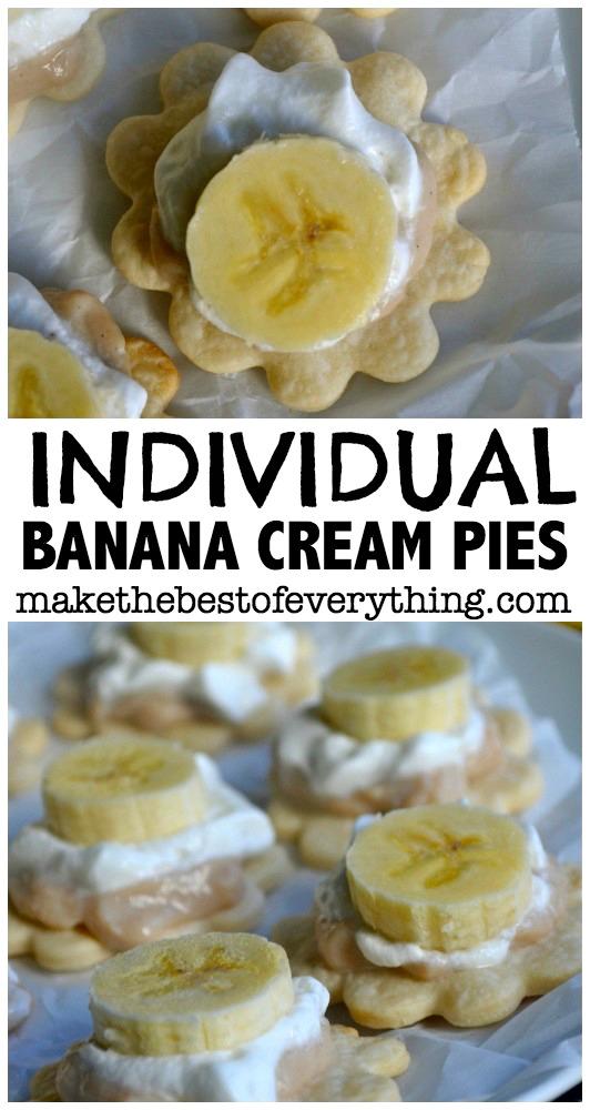 Individual Banana Cream Pies0010