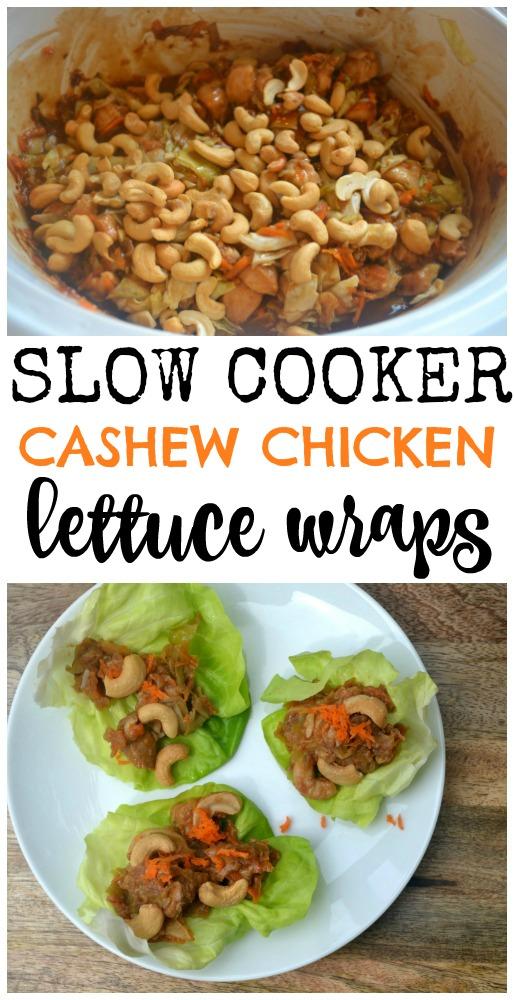 Slow Cooker Cashewchicken