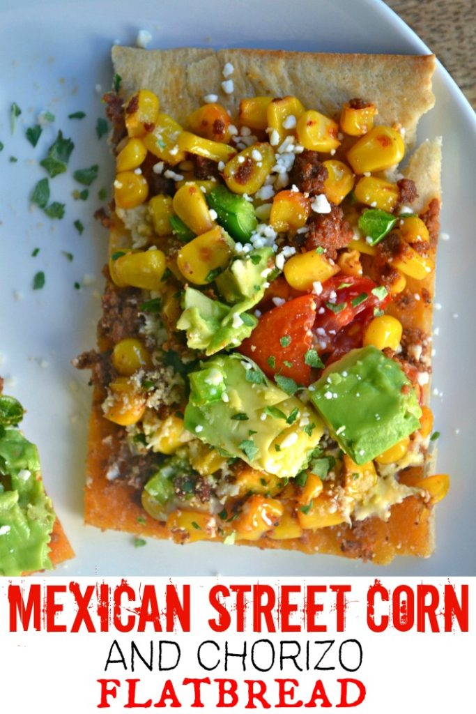 Mexican Street Corn pizza