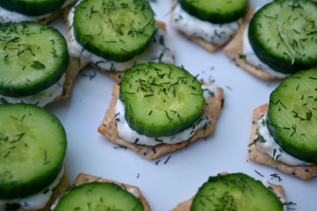 glutenfree cucumbersandwichbts