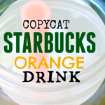 Copycat Starbucks Orange Drink