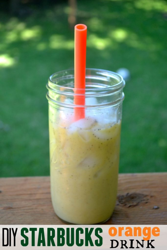 orange drink starbucks copycat starbucks orange drink 12174