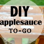 DIY Applesauce To-Go